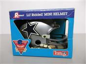CLIFF HARRIS & TONY HILL SIGNED RIDDELL LIL' RIDDELL MINI COWBOYS HELMET
